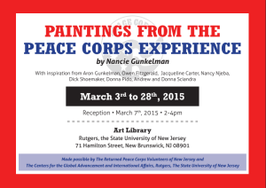 RPCV art event